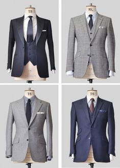 a fitted suit looks so much better than a baggy one - Pak 'nPak - Roermond Sharp Dressed Man, Well Dressed Men, Suit Fashion, Mens Fashion, Fashion Outfits, Mode Costume, Bespoke Suit, Fitted Suit, Suit And Tie