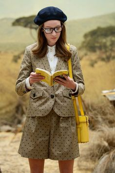 A Wes Anderson-Inspired Collection We're Crushing Over Hard #refinery29  http://www.refinery29.com/orla-kiely#slide-4