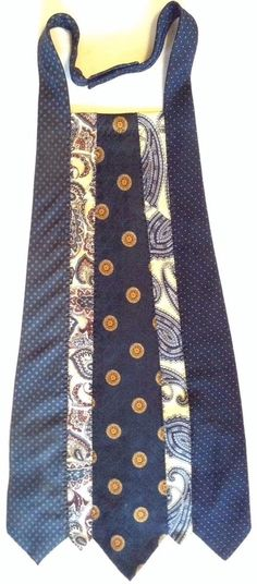 Ebay item but easily DIY. Could use holiday ties. Make longer add tie and you have an unique apron.