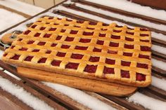 Tarta capsuni si rubarba Waffles, Breakfast, Recipes, Food, Pie, Meal, Eten, Recipies, Meals