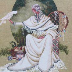 Spirit Dancer Cross Stitch Pattern Chart Ghost Whisperer Guide Butternut Road  #LavenderLace