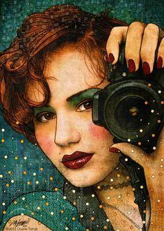 For Literary Elegance Ladies Book Club.. Charlie Terrell Artworks