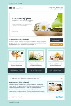 ThemeForest eShop Email Newsletter Template #webdesign - More Web Ideas at Stylendesigns.com!