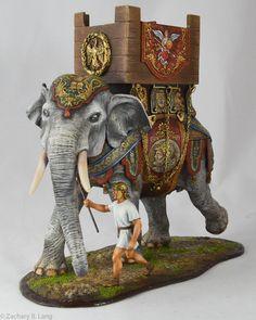 Roman War Elephant w-Handler-AeroArt-St Petersburg Collection-6128 img5