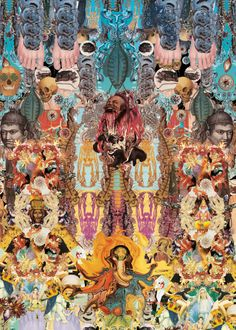 """Altar Mayor"" - Digital collage - 100x70cm - £POA"