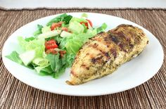 Grilled Ranch Chicken (Low Carb and Gluten Free)