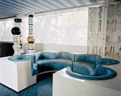 Avalon by kelly wearstler, retro-futuristic furniture, retro-futuristic interior