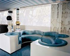Avalon by kelly wearstler, retro-futuristic furniture, retro-futuristic interior