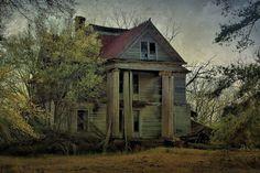 Malcolm Archibald McRainey House Elmodel GA Baker County Photograph Copyright Brian Brown Vanishing South Georgia USA 2016
