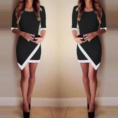 Spring Dress Plus Size Clothing Mujer Bodycon Dress Sexy Dresses Summer Style Women Half Sleeve Asymetrical Vestido Femme