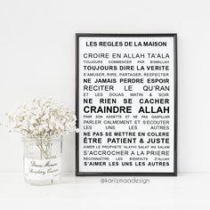Les règles de la maison islam