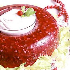"OH MY    ""CHILLED CRANBERRY RING""  Perfect for your holiday table......"