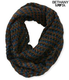 Multicolored Infinity Scarf from Bethany Mota collection at Aeropostale Passion For Fashion, Love Fashion, Autumn Fashion, Aeropostale, Bethany Mota Outfits, Bethany Mota Collection, Girl Outfits, Cute Outfits, Scarf Jewelry