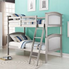 Hollywood Twin Over Twin Bunk Bed