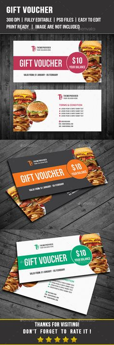 Gift Voucher Template PSD #design Download: http://graphicriver.net/item/gift-voucher/14386638?ref=ksioks
