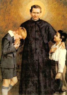 Don Bosco, siempre al lado de los jóvenes.