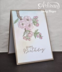 Stampin' Up ideas and supplies from Vicky at Crafting Clare's Paper Moments: An indescribable Gift from the new Stampin' Up spr...