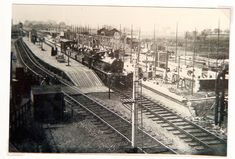 Wells by Sea Station under construction courtesy Norwich Orbital Railway FB page Wells Next The Sea, Steam Railway, Under Construction, Norfolk, Railroad Tracks, Buildings, Wellness, Cars, History