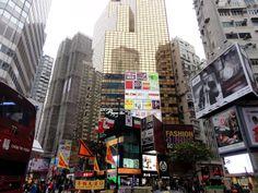 Stadtbild von Hong Kong