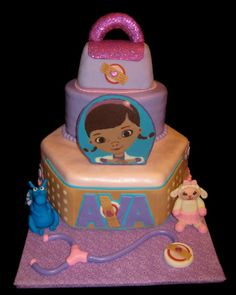 Birthday Cakes - Doc McStuffins  #weightloss #health #weight loss
