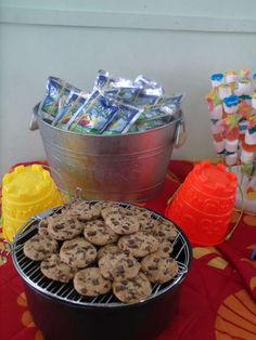 Third Grade end's of school...... | CatchMyParty.com-cute tablescape