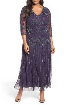 Komarov plus size dresses mother of the bride
