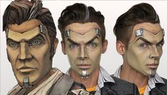 Handsome Jack Borderlands | Halloween MakeUp Tutorial | Cosplay inilah cara belajar saya...