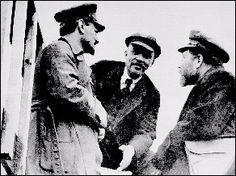 Троцкий - Ленин - Каменев