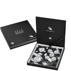 2013 United States Mint Limited Edition Silver Proof Set with 8 Stunning Coins