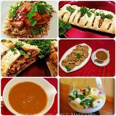 Edels Mat & Vin: Vegansk tre retters middag 🌿 Tofu, Risotto, Panna Cotta, Tacos, Mexican, Ethnic Recipes, Wine, Dulce De Leche, Mexicans