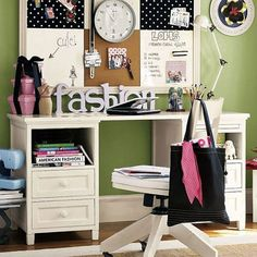 Home-Dzine - Designing a study space for tweens and teens
