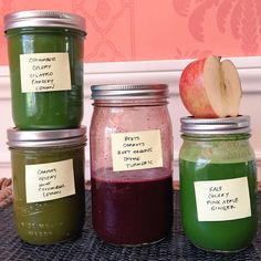 Happy homemade juicing!