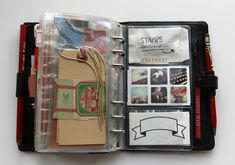 Besottment Filofax Art Journal