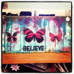 canvas... believe. how-to on site