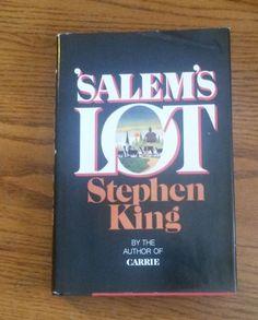 SALEM'S LOT, STEPHEN KING, 1975, 1ST BC EDITION* DOUBLEDAY, NEAR NEW! HC&DJ, VG!