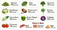 #Top 10 Sources of #Veggie #Protein Where do you get #protein?  #healthy #food #vegetables #fruits #diet #vegetarian