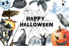 Watercolor Halloween Party By Vikeriya