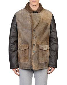 Vittorio forti Men - Leatherwear - Leather outerwear Vittorio forti on YOOX