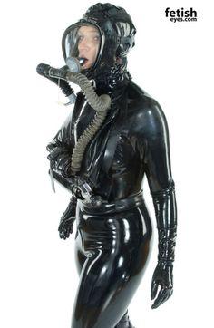 Rubber, Bondage, Fetish and Art Breathing Mask, Rubber Catsuit, Leather Catsuit, Mask Images, Female Mask, Latex Babe, Latex Hood, Mask Girl, Scuba Girl