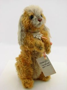 Wendy Brent Teddy Bear Artist Stuffed Animal Mohair Rabbit Bunny Tiara 19/50
