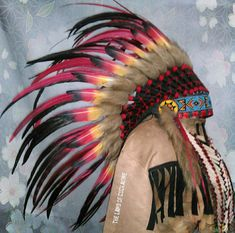 Double Feather Kid Indian Headdress, indischer Kopfschmuck, Coiffe Indienne Headdress, Kids Outfits, Halloween, Indian, Indian Head Jewelry, Fascinators, Kids Fashion, Headpiece, Spooky Halloween