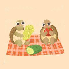 Tortoise Turtle, Turtle Love, Tortoises, Henri Matisse, Digital Illustration, Yoshi, Illustrations, Drawings, Artwork