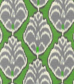Home Decor Print Fabric- HGTV Home Gathering Place Fern