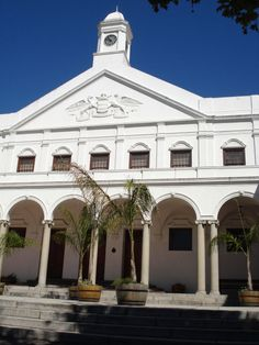 Paarl Stadsaal. Had some great parties there.