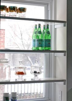 kitchen window storage - Google Search
