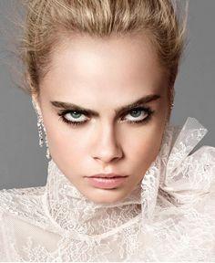 Cara smolders in Elle US September 2016