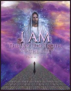 """✝✡Trust in the LORD with all thine Heart✡✝ """"Jesus saith unto him, I Am the Way, the Truth, and the Life: no man ( or anyone ) cometh unto the Father, but by ME. """"For God so lov. Pictures Of Jesus Christ, Mystique, Jesus Is Lord, King Jesus, Jesus Quotes, Bible Quotes, Qoutes, Faith In God, Bible Scriptures"""