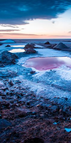 Chott el Djerid is a particularly beautiful salt lake in southern Tunisia