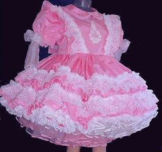 Handmade Custom Design Sissy Clothing Adult by SomeDayinThyme