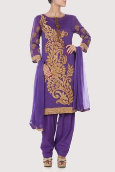 Ochre tone floral work all over the tunic. Shop Now: www.karmik.in/shopping/index.php